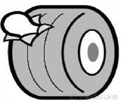 腹膜に相当するイメージ